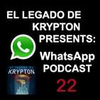 Wassapodcast 22: Los Defensores, La niebla (serie), Ready Player One, La torre oscura, Valerian y mucho más....