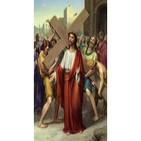 2/14 - Jesus carga y abraza la cruz.