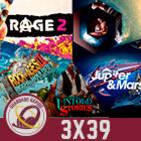 GR (3x39) Observation, Rage 2, Rock of Ages 2 , Lovecraft´s Untold Stories, Jupiter & Mars