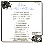 Love Of My Life (South American Live Single, June 1979) 3:44 Bonus EP