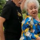 ¡Cachan a seis abuelitos teniendo sexo en un bosque!