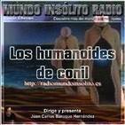 92/3. Humanoides de Conil. Milagro sábana Sta. Fantasmas antiguos. Reencarnación.Hermafroditas. Cine y la bomba atómica.
