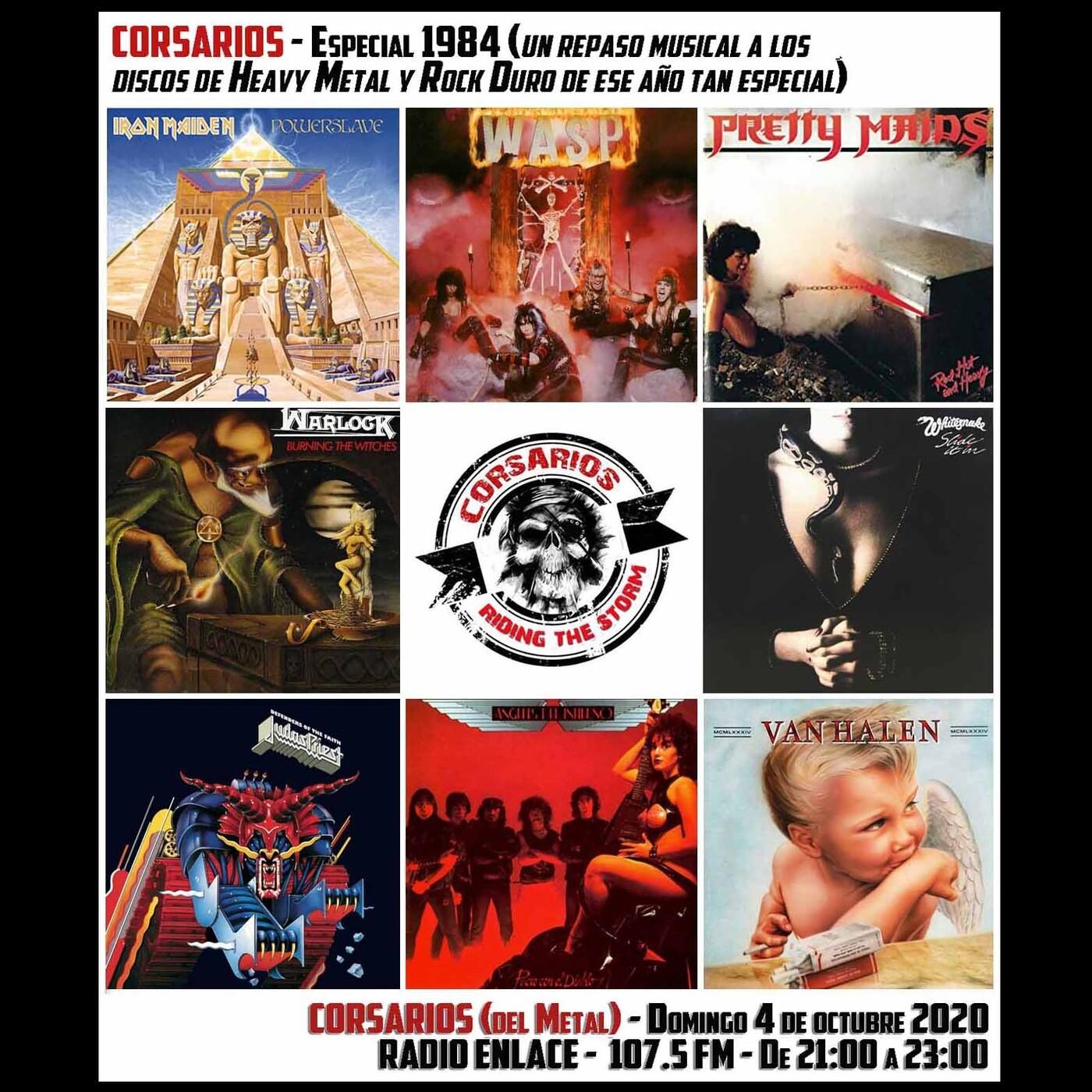 Corsarios - Especial 1984 (en heavy metal) - Domingo 4 de octubre de 2020