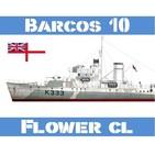 B-10#04 Corbetas Clase Flower Caza-Submarinos Low Cost