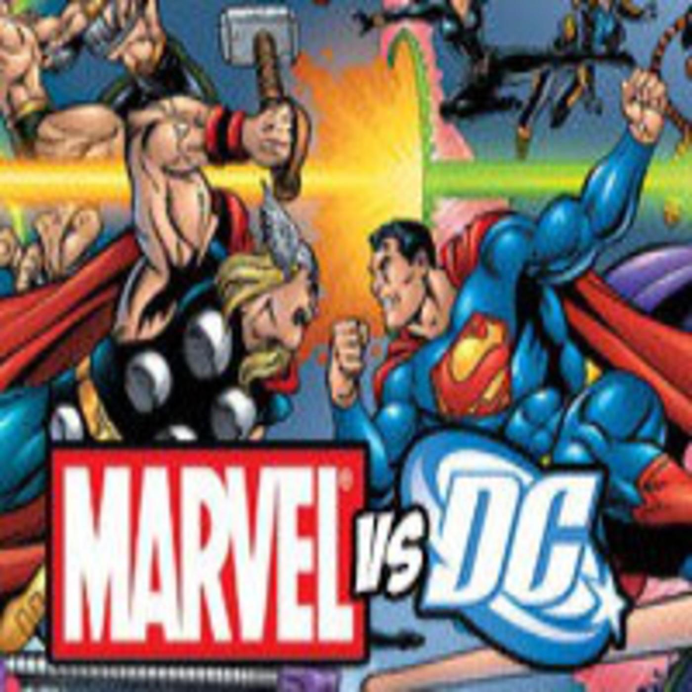 Charrando de tebeos episodio 50: Marvel vs DC