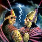 Atahualpa frente a Huascar. La guerra entre hermanos