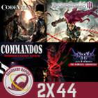 GR (2x44) El hate en los videojuegos, Commandos, Darksiders III, Code Vein y Análisis Anima: The Gate of Memories