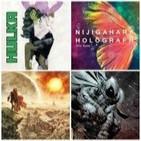 Visión Friki Podcast 11 - Comiqueando (Hulka, Noé, Nijigahara Holograph, Caballero Luna)