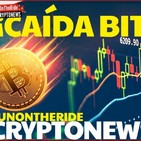 Caída Bitcoin! Últimas Noticias! Criptonoticias Funontheride