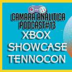 Podcast de Camara Analitica #13 CONFERENCIA DE XBOX SHOWCASE , TennoCon 2020 y abby