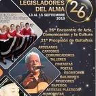 Jose Marìa Blanco nos habla del 26 Encuentro del Arte ,la Comunicación y la Cultura