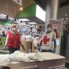 Cruz Roja Cantabria participa en la campaña de la operación #KilosDeSolidaridad/Marisa Gutiérrez, trabajadora social