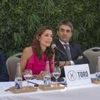 CULTURA DE BOU 14/6/2017 Raquel Sanz presenta 'Programa Víctor Barrio', Juan del Álamo y Manuel Chopera sobre Bilbao
