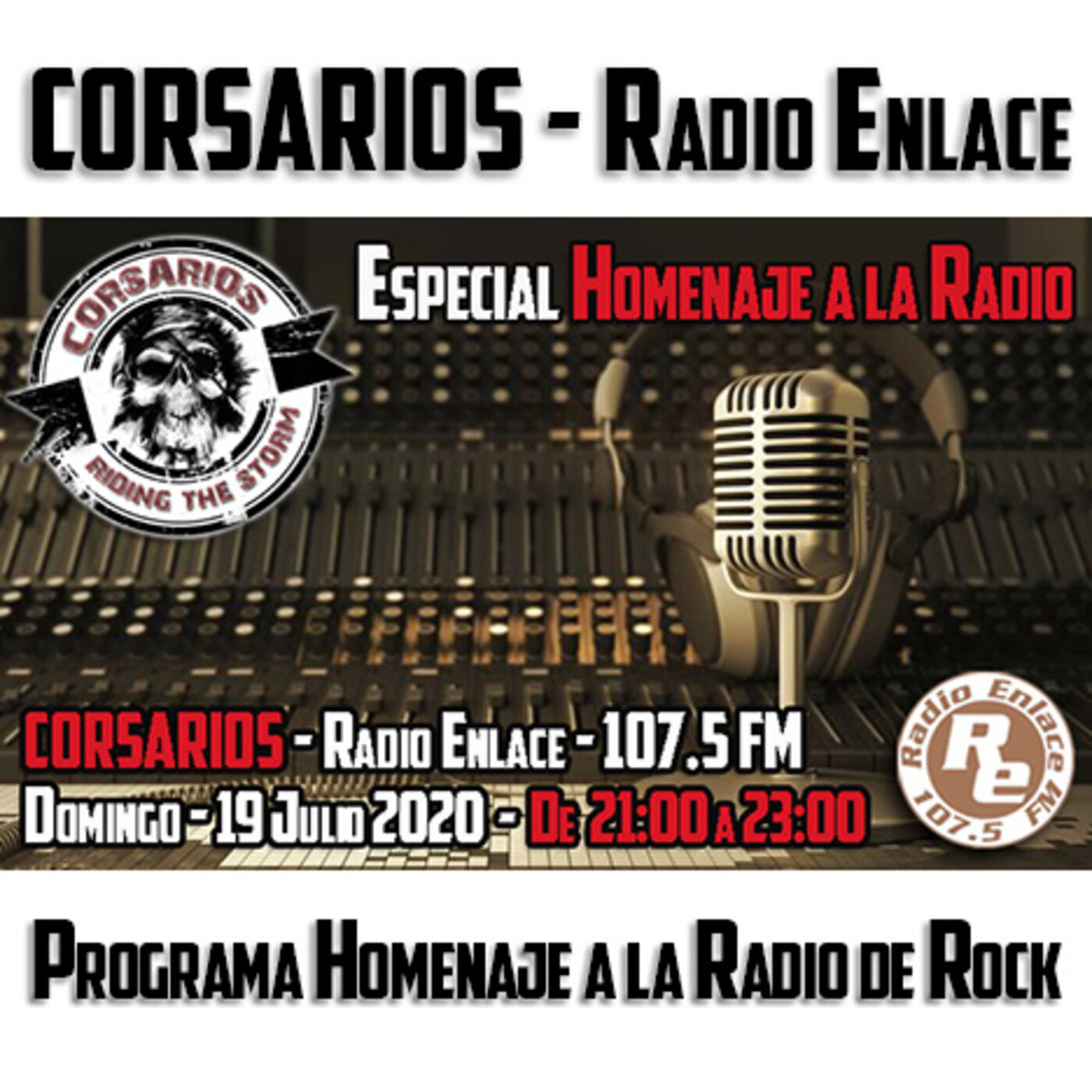 Corsarios - Especial homenaje a la radio - Domingo 19 de Julio 2020