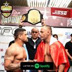 Podcast - Entrevista al Presidente del Fusion Fighting Championship Jackson Mora