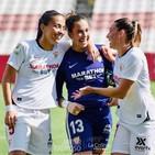 FEM Sport: Cata Coll tras firmar una actuación impecable con el Sevilla FC. Y Asociación Deporte Para La Igualdad