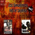 Aguas Turbias 28 - Los Sangrientos VHS de Salariasa Vol1: El Tren del Terror + El Asesino de Rosemary