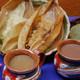 Tamales, atole y más delicias