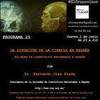 El Cronovisor. Programa 25. La Situación de la Ciencia en España. CRE.