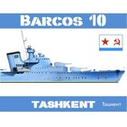 Barcos 10 #44 Tashkent: Héroe de la Flota del Mar Negro - URSS Segunda Guerra Mundial Destructor Historia