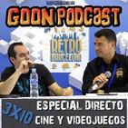LMG 3x10: Especial en directo Retrobarcelona 2018, Cine y Videojuegos