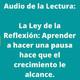 Audio-La ley de la reflexión