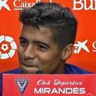 Carlos Julio en Zona Mixta Vs Atleti B