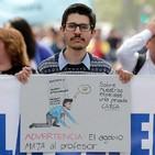 Profesores chilenos exigen a Piñera que pague deuda histórica de hace 30 años