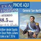 El General San Martín, vida en Europa - Eduardo Aldiser con Oscar Pedro Juliano -17-08-16 - Ituzaingó - Argentina