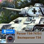 NdGfans Panzer 747(r) o el T34 alemán
