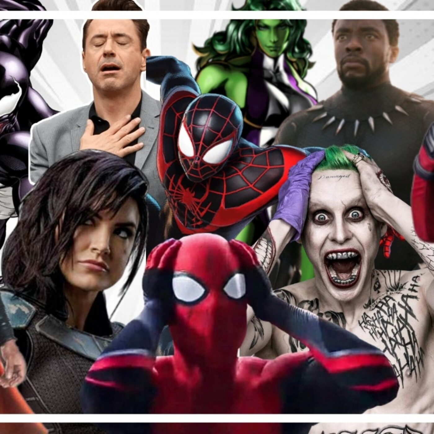 [RUMORES] - Venom y Miles morales en Spiderman3, Jared Leto vuelve como Joker, Robert Downey en star wars