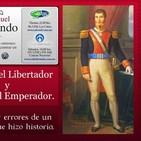 Iturbide el Libertador y Agustín el Emperador.