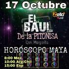 EL BAÚL DE LA PITONISA Con Margarita Tema: 'Horoscopo Maya'