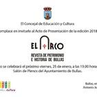 Antonio José presentación revista Arco.