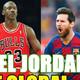 JORDAN vs MESSI vs MARADONA ... ¿quién es el MAYOR ICONO del deporte?