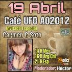 CAFÉ UFO CON 'CARMEN SOTO' EN Alerta OvNi 2012