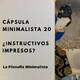 CM20 | ¿Instructivos impresos?