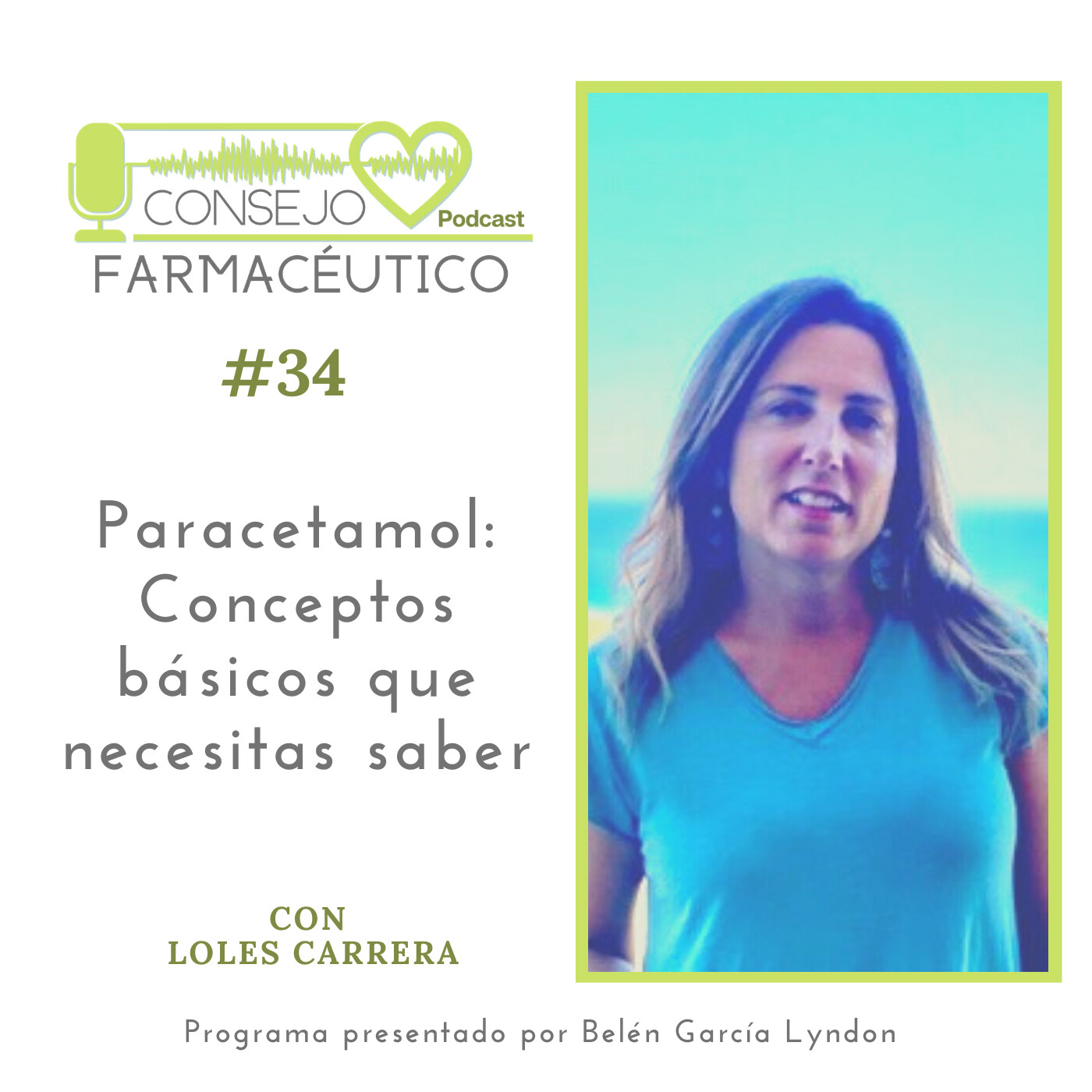 #34. Paracetamol: Conceptos Básicos Que Necesitas Saber - Con Loles Carrera