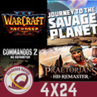 GR (4x24) El cisma de Rockstar, Platinum+Kickstarter, Zelda terapéutico, Journey to the Savage Planet, Warcraft 3 y MÁS
