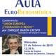 Conferencia de Enrique Barón Crespo, expresidente del Parlamento Europeo