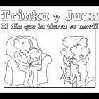 'Trinka y Juan, el día que la tierra se movió' más que un libro, una herramienta