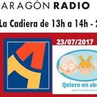 Presentación de Quiero Un Abuelo en Radio Aragón