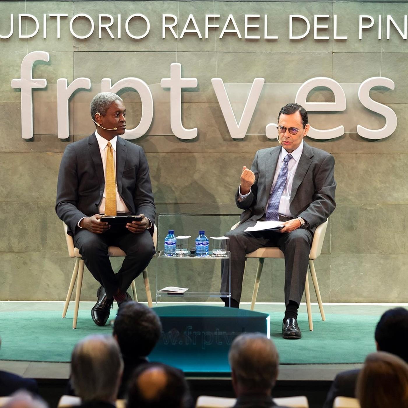 Política monetaria en un nuevo escenario económico y geopolítico con Raphael Bostic y Jaime Caruana.