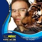 Daniel Callejo El Tigre en Top Music Radio - Febrero 2019