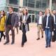 La ministra de Turisme, Reyes Maroto, es va comprometre ahir a donar a conéixer 'Escala a Castelló' per tot el món