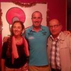 Carmelo Gonzáles e Ina Molina en la Sección G. David Peralta del Batiburrillo de Radiofaro Canarias 1ª Parte.