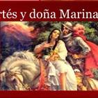 Hernán Cortés y doña Marina