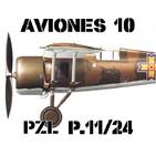 A10#37 P.Z.L. P.11 las Gaviotas Polacas - Abierto