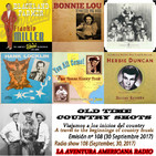 108- Old Time Country Shots (30 Septiembre 2017)