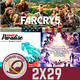 GR (2X29) Mega Análisis Far Cry 5, Burnout Paradise Remastered, Película Ready Player One: Crítica sin spoilers.